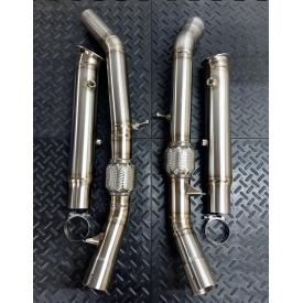 Mercedes ML/GL/GLE/GLS 320/400/450/43AMG Downpipes