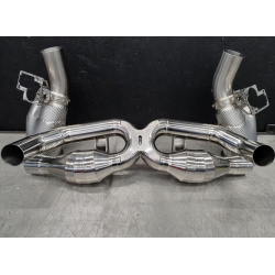 911 Turbo 992 Exhaust System