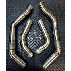 Bentley Continental GT / Flying Spur Downpipes