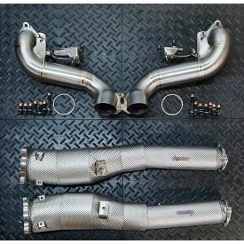 Acura NSX Downpipes